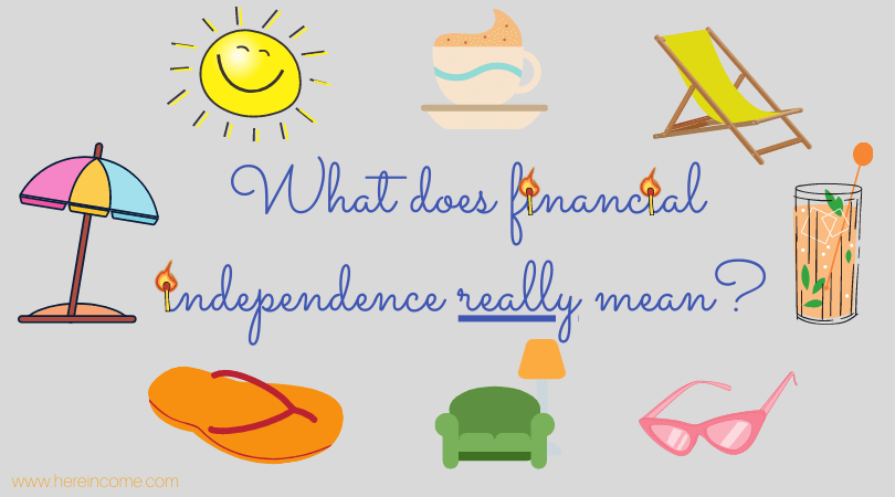 what does financial independence really mean