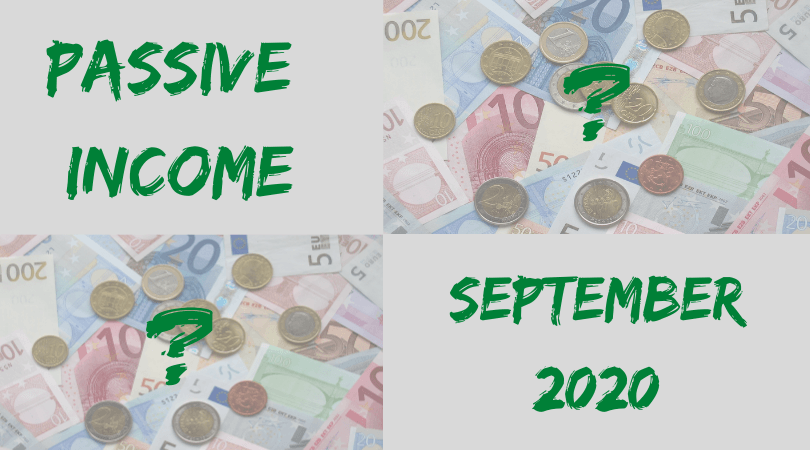 Passive Income Update September 2020